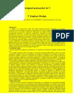 V Engines Design