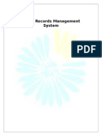 Crime Records Management System (Synopsis)