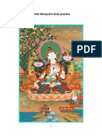 White Manjushri Daily Practice