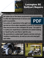 Golf Cart Repair Lexington SC