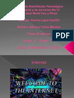 YañezMendezANTIC Act.13B ElInternet PowerPoint