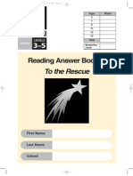 2003 Reading Answer Booklet