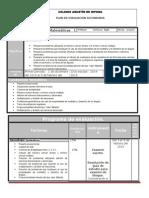 Plan de Evaluacion Mate 1-b 3 14-15
