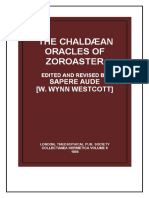 Chaldean Oracles of Zoroaster