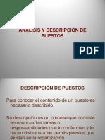 12- Analisis y Descripcion de Puestos PDF