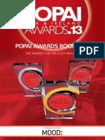 POPAI Awards Book 2013