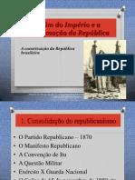 Brasil República Velha 2013