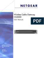 Netgear Cable Modem Usermanual