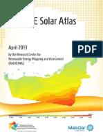 UAE Solar Resource