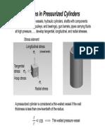 Cylindrical Presure Vessel