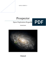 Prospector Manual and user guide