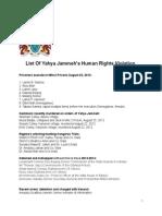 Appendix 5A- Human Rights Violations List_Yahya_Jammeh_Crimes_Master