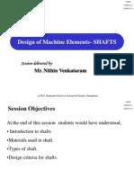 Design of Shafts