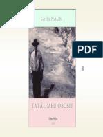 Gellu Naum - Tatal Meu Obosit