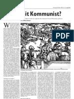 Zur Unzeit Kommunist