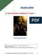 Naranjo, Pedro - La Vida de Miguel Enríquez y El MIR