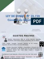 LEY DE LOBBY, N° 20.730 Cámara de Diputados
