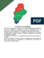 Leyendas de Moquegua y El Mapa Politico de Moquegua