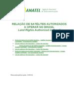 Direito de Exploração Satélite Brasileiro e Estrangeiro - Anatel