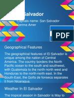 el salvador spanish project