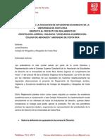 Observaciones a La Prueba de Excelencia Académica Colegio de Abogados - AED