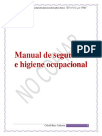 Manual de Seguridad e Higiene Ocupacional