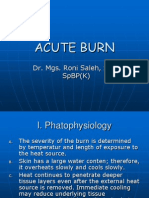 Acute Burn