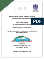 Protocolo de Investigacion Del Origen de Las Cocadas