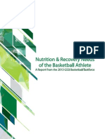 Bball Task Force Final- Basketball Nutrition