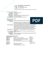 UT Dallas Syllabus for mkt6220.555.07s taught by Jane Bryant (jab015000)