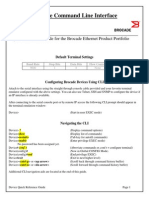 Brocade to Cisco Reference Command Guide