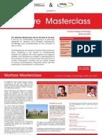 Masterclass Flyer