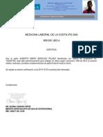 Certificado Altura 1043007007-Alberto Mario Berdugo Pelaez