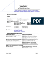 UT Dallas Syllabus for aim6335.pd2.06f taught by Charles Solcher (solcher)