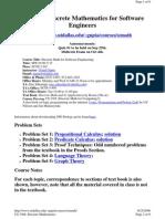 UT Dallas Syllabus for se3306.001 06f taught by Gopal Gupta (gupta)