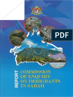 Report of the Commission of Enquiry on Immigrants in Sabah