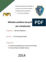 Informe Nº3 de Quimica Organica i