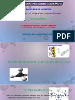 Biomoleculas y Bioelementos Exposicion
