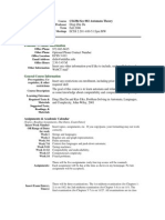 UT Dallas Syllabus for cs4384.002 06f taught by Ding Du (dxd056000)