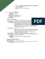 UT Dallas Syllabus for cs4349.501 06f taught by Ramaswamy Chandrasekaran (chandra)