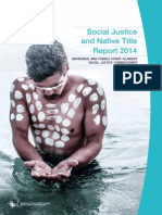 Social Justice and Native Title Report 2014