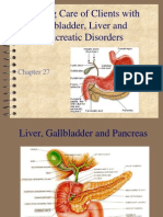 Chapter 27 care of clients with gallbladder liver and pancreatic disorders fall 2011 dunn.ppt