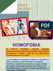 Homofobia y Homosexualidad