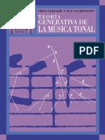 Teoria Generativa de La Musica Tonal