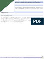 Método Marshall Para Diseño de Mezclas Asfálticas