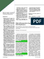 Genomic Dna Paper