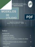 Modelos de Utilidad