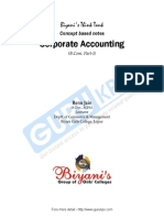 Corporate Accounting Libre