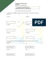 EDUCACIÓN MATEMÁTICAS Divisiones Inexacta y Exactas