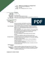 UT Dallas Syllabus for ishd3343.501 06f taught by Jacoba Vanbeveren (jtv013100)